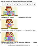 Count Pictures - whole-numbers - Kindergarten