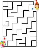 New Year Mazes - new-year - Kindergarten