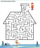 Winter Maze - winter - First Grade