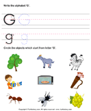 Identify Words for Letters (A-z) - alphabet - Kindergarten
