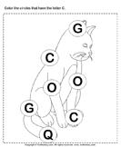 Identifying Letter C