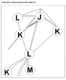 Identifying Letter K