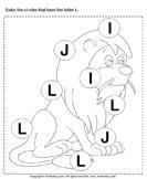 Identifying Letter L