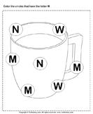 Identifying Letter M