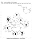 Identifying Letter O
