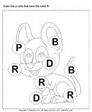 Identifying Letter R