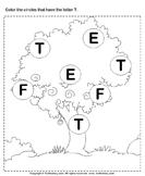 Identifying Letter T