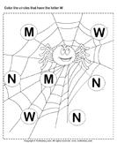 Identifying Letter W