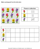 Record Data with Pictographs - charts - First Grade