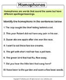Mark Homophones in the Sentences