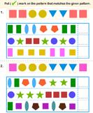 Match Pattern Similar to Given Pattern