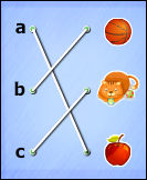 Matching Lists Images - preposition - First Grade