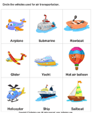 Air Transport - transportation - Kindergarten