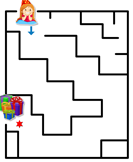 Party Girl Maze
