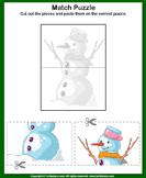 Snowman Picture Puzzle