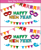 Spot the Differences New Year Banner