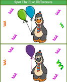 Spot the Differences Penguin
