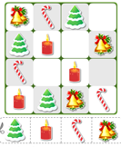 Sudoku Puzzle Candle Tree Bell Candy