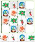 Sudoku Puzzle Santa Present Stocking Mistletoe