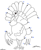 Thanksgiving Connect the Dots - thanksgiving - Kindergarten