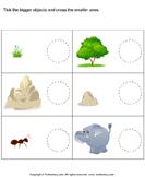 Adjectives - Bigger, Smaller, Hot, Cold, Fast, Slow Etc. - adjectives - Kindergarten