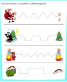 Tracing Santa