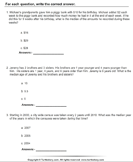 Word Problems on Median