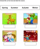 Write Name of Seasons